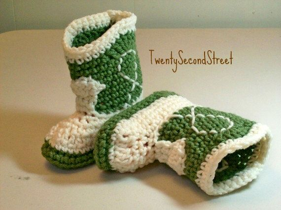 Enchanting Baby Crochet Cowboy Boots Free Pattern Component Easy