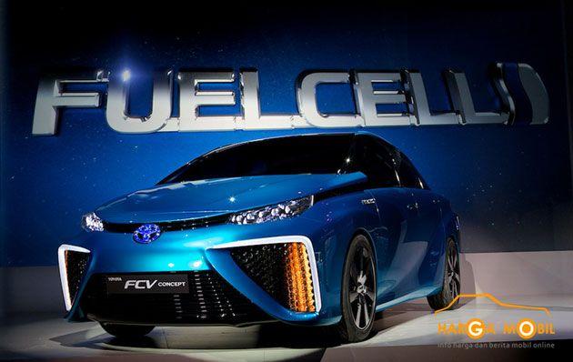 Toyota FCV Prototype Pada IIMS 2014 - http://www.hargamobil.co.id/toyota-fcv-konsep.html