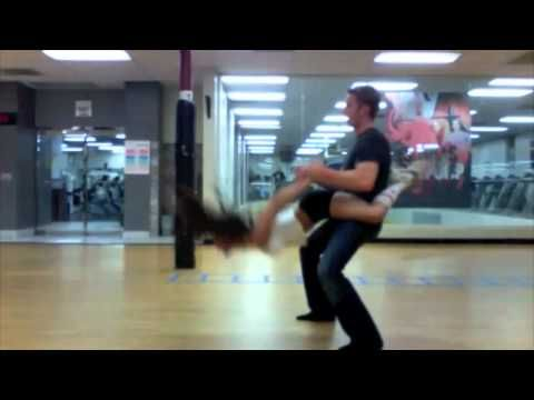 Country Swing Dancing - really cool moves at 1:30, 3:08 **Could be adapted into ballet partnering moves. Arabian?
