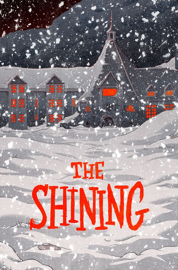 The Shining (1980) ~ Minimal Movie Poster by Max Temsescu ~ Kubrick Series #amusementphile