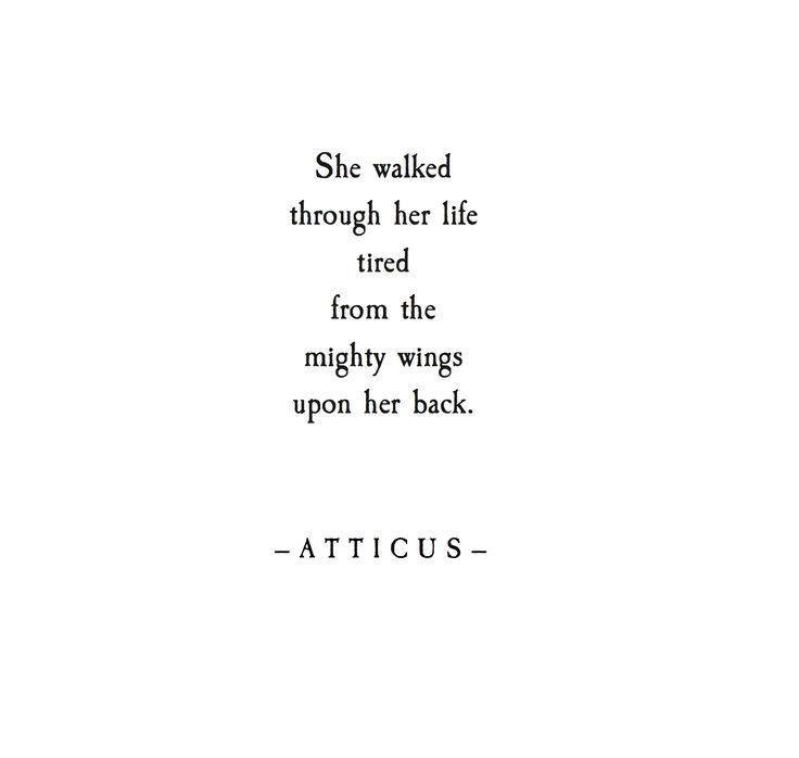 xx. #atticuspoetry #wings