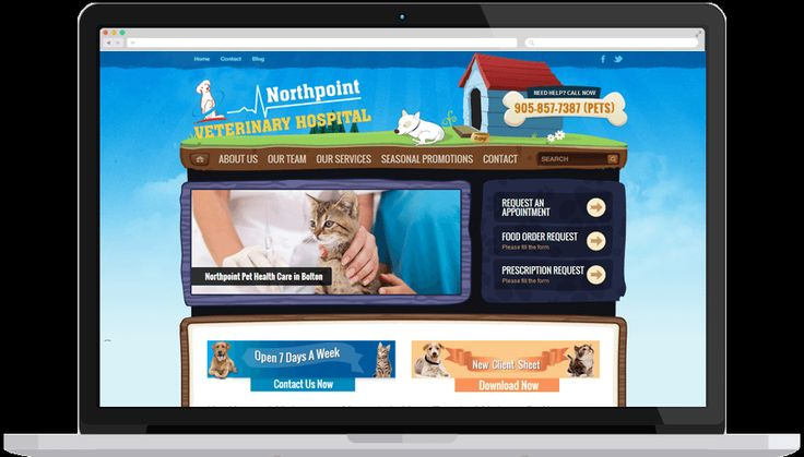 North Point Vet provides quality pet health care solutions across Bolton. We renovated the website and also worked to get the site on the top position in the result pages. We aimed to keep the layout simple and provide users easy-to-use navigation. Our internet marketing techniques were crafted to drive more traffic to the website.
