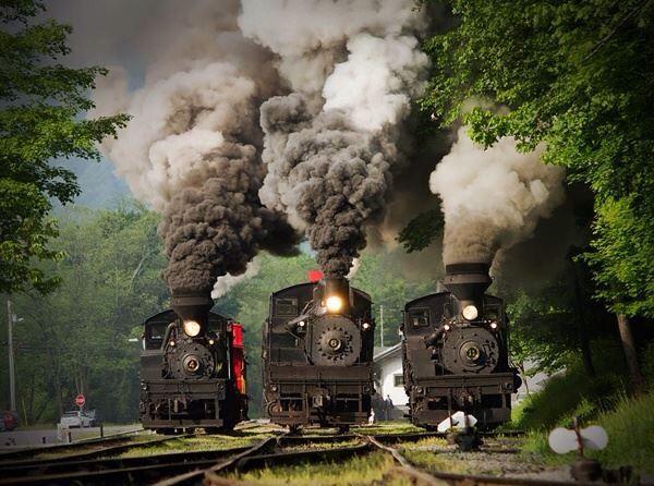 Cass Scenic railway, Cass West Virginia...