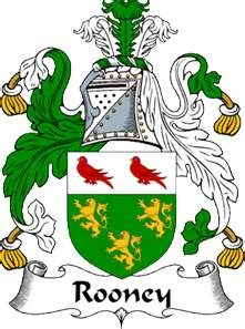 Our Rooney family Coat of Arms
