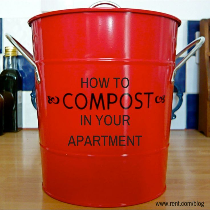 Composting is a process where organic materials decompose to create a nutrient-rich material that's great for soil. We put together directions on how you can compost in your own apartment! It will help reduce greenhouse gases, and give you a gorgeous balcony garden.  #gogreen #balcony #garden