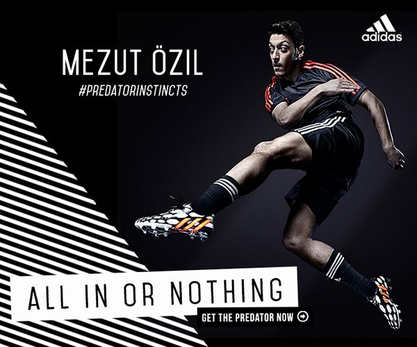 Adidas All In Or Nothing Rich Media Ad Campaign On Student Show Adidas Ad Ad Campaign Football Ads