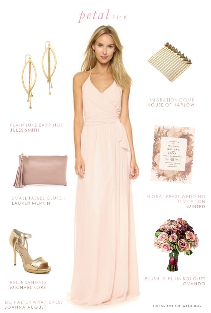 228 best Pink Bridesmaid Dresses images on Pinterest