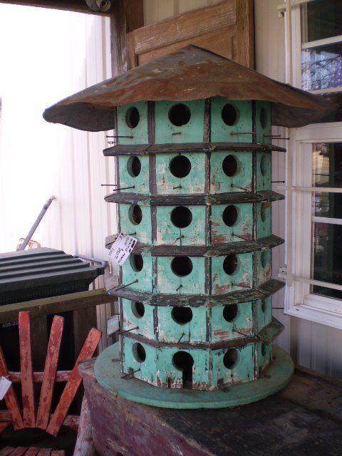 Wonderful old  Martin bird-house