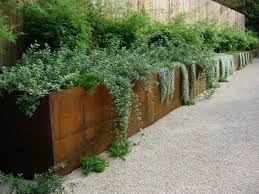 retaining wall garden design - Google Search