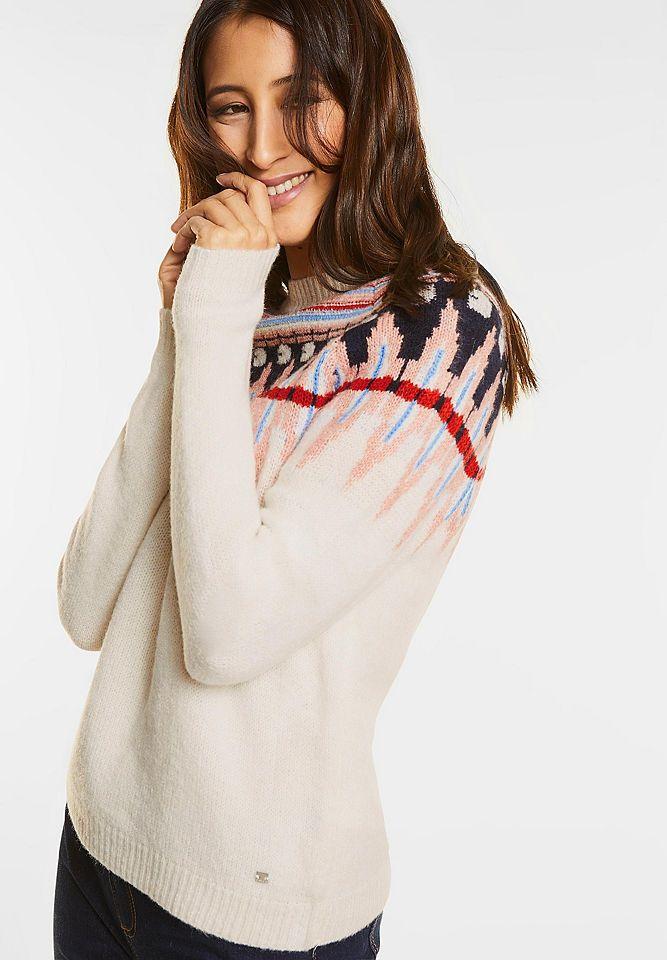 Street One Norweger Pullover Jetzt bestellen unter: https://mode.ladendirekt.de/damen/bekleidung/pullover/sonstige-pullover/?uid=90d885cf-348d-51cb-902d-9dfc158fd1b7&utm_source=pinterest&utm_medium=pin&utm_campaign=boards #sonstigepullover #pullover #bekleidung