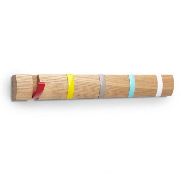 patre design multicolore les patres design dtrnent le portemanteau elle dcoration - Patere Colore