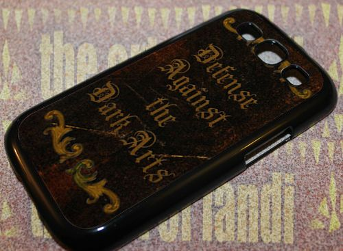 Harry Potter inspired Advanced For Samsung Galaxy S3 Black Rubber Case