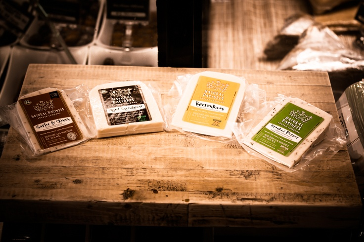 New Natural Pastures cheeses of the Firm and Verdelait Artisan variety.
