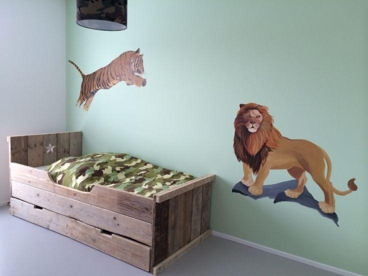 Bed steigerhout op voorraad alle maten (12809030)