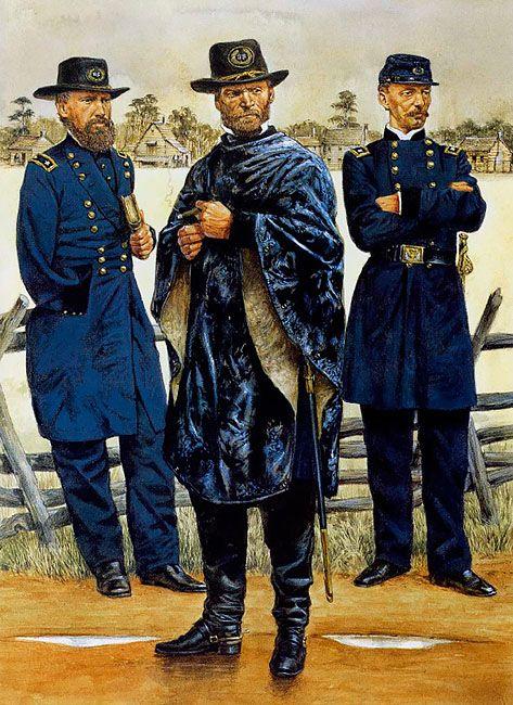*SLOCUMLA PINTURA LA GUERRA. SURSUMKORDA IN MEMORIAM ~ Major-General Oliver Howard  • Major-General William T. Sherman  • Major-General Henry SlocumLa Pintura y la Guerra. Sursumkorda in memoriam.
