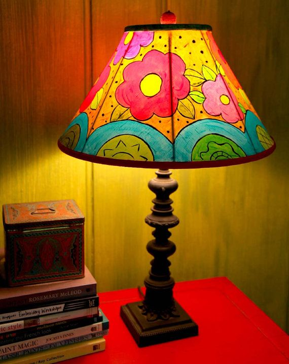 Designs For Painting Lampshades