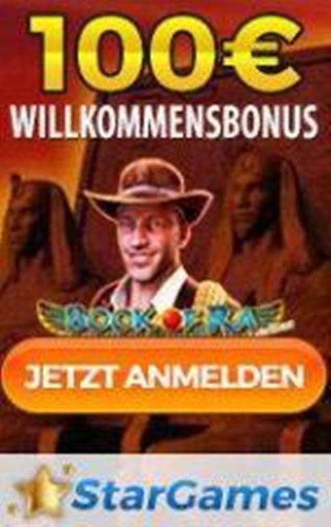 Stargames 100€ Bonus
