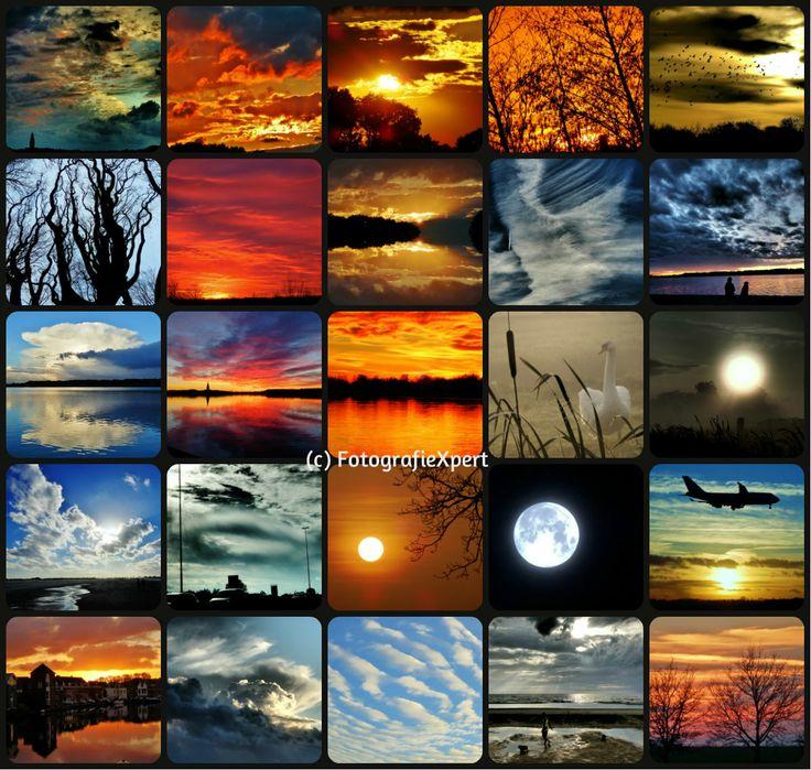 De mooiste luchten boven Nederland 2013 Beautiful skies above Holland FX