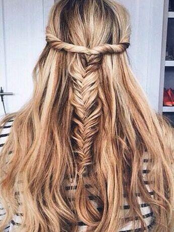 twist fishtail braid