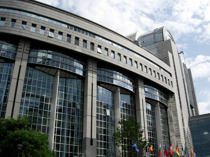European Parliament in Brussels - Belgium