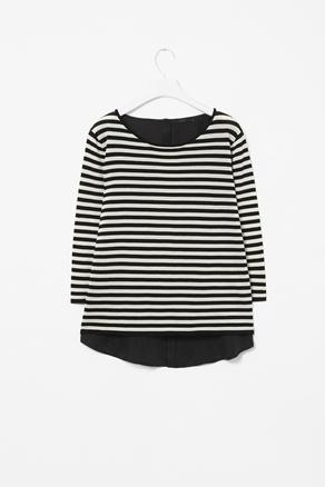 Silk back cotton jumper // Cos: Clothing Shops, Stripes Addictions, Cos Silk, Cotton Jumpers, Favorite Animal, Cos Stripes, Favorite Patterns, Stripess Jumpers, Shops Stuff