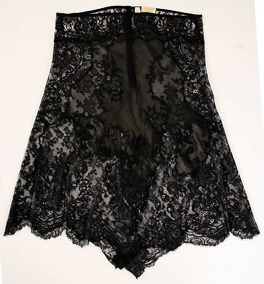 "Underpants: 1930's, American, silk/cotton.    Marking: [label] ""Léron, 745 Fifth Avenue, New York"""