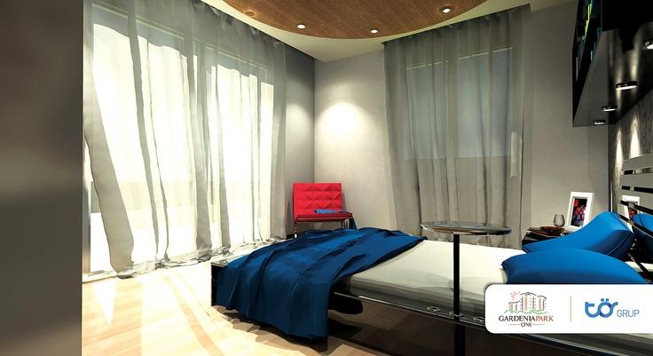 torgrup gardenia park kurumsal iç mekan tasarımı. ebeveyn yatak odası tasarımında kullanışlılık konfor ön planda tutuldu. farklı zevkler için alternatif renk kartelaları kullanıcıların beğenisine sunuldu.
