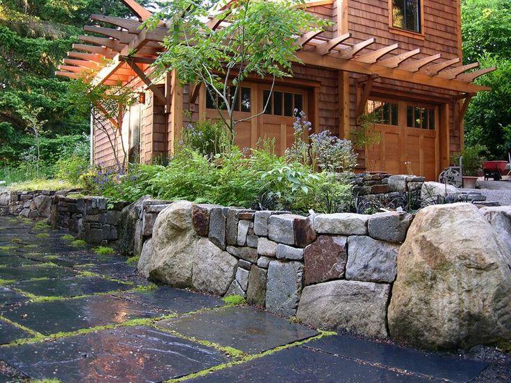Gorgeous slate patio