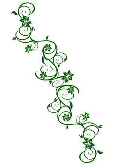 Drawing Flowers And Vines - ClipArt Best