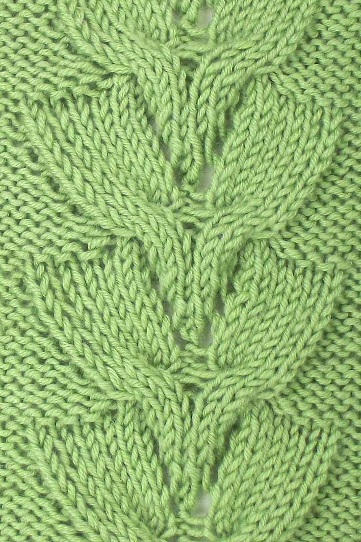 Different Cable Knitting Stitches : 17 Best images about December 2012 Knitting Stitch Patterns on Pinterest La...