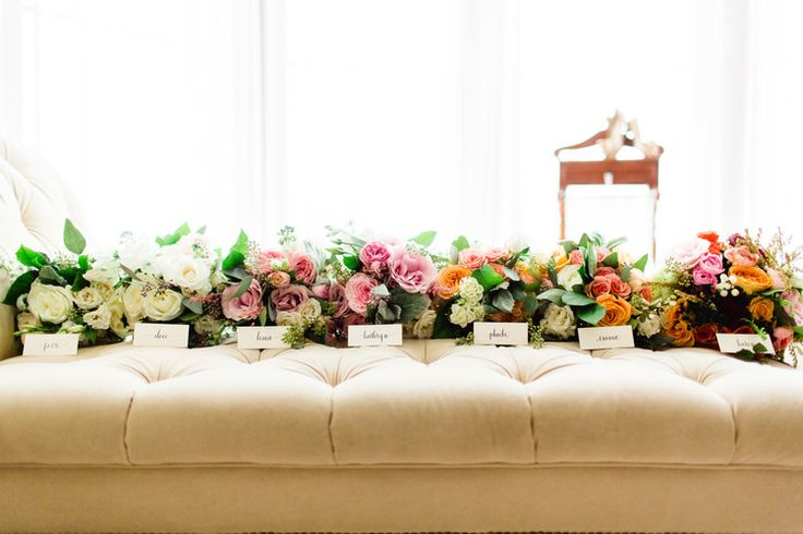 Tuscan in Tremblant — Full Bloom - bridesmaid bouquets - ombre - rustic - garden roses
