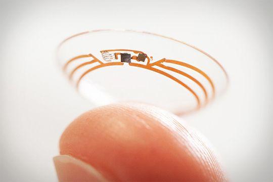 Google Smart Contact Len