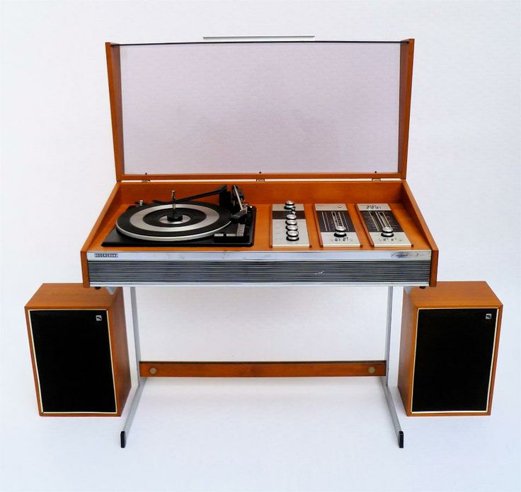 Deccasound Compact 3 Record Player Amp Radio Stereo System