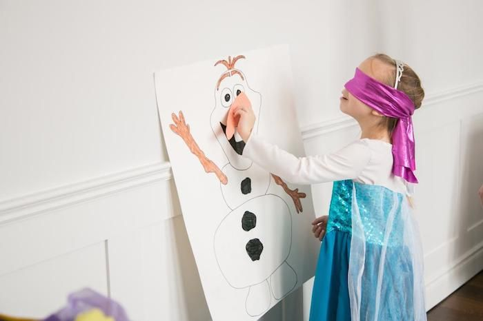 Disneys Frozen themed birthday party with Such Cute Ideas via Kara's Party Ideas | Cake, cupcakes, favors, printables, and MORE! KarasPartyI...