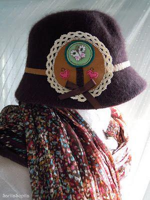 Sombrerito marron