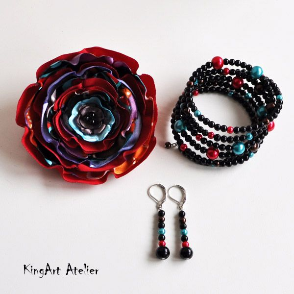 Handmade colorful set (KingArt Atelier)