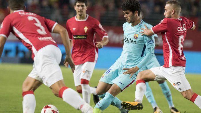 Barcelona vs Real Murcia en vivo 29/11/2017 - Ver partido Barcelona vs Real Murcia en vivo online 29 de noviembre del 2017 por Copa del Rey. Resultados horarios canales y goles.