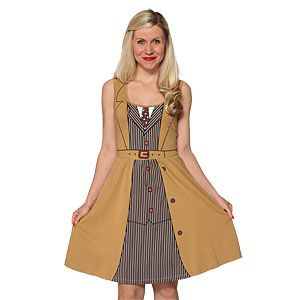 ThinkGeek :: 10th Doctor Costume A-line Dress....i want this for my birthday :p