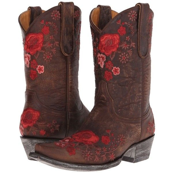 Old Gringo Shelby (Messing) Cowboystiefel ($ 525)