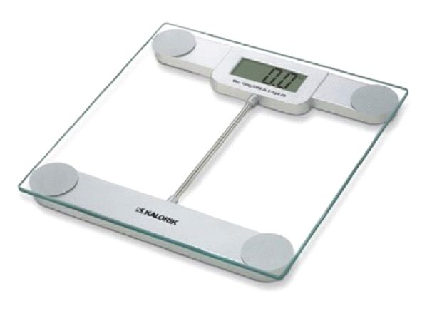 Kalorik Precision Electric Digital Modern Glass Bathroom Scale EBS 39693