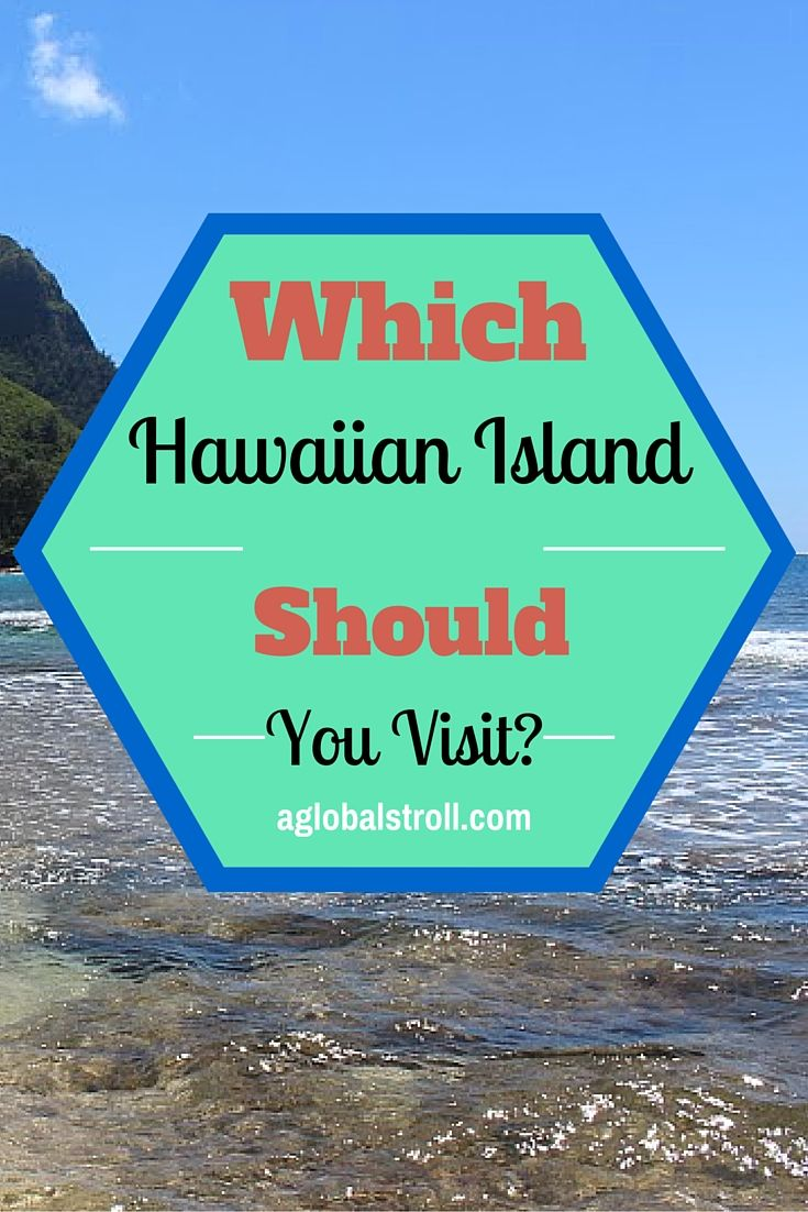Planning a vacation to Hawaii but don't know where to start? Check out our guide to see which Hawaiian island you should visit. Oahu, Molokai, Big Island, Lanai, Kauai, Maui, Niihau, Kahoolawe. | AGlobalStroll.com
