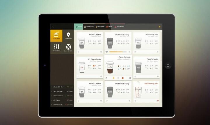 #Inspirational #iPad coffee #app design 83oranges.com