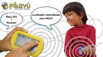 Reloj localizador GPS para niños, Pikavu