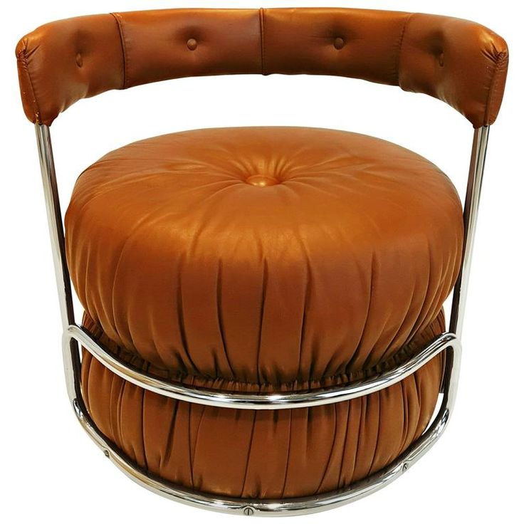 French Pouf Chairs, 1970s | From a unique collection of antique and modern ottomans and poufs at https://www.1stdibs.com/furniture/seating/ottomans-poufs/