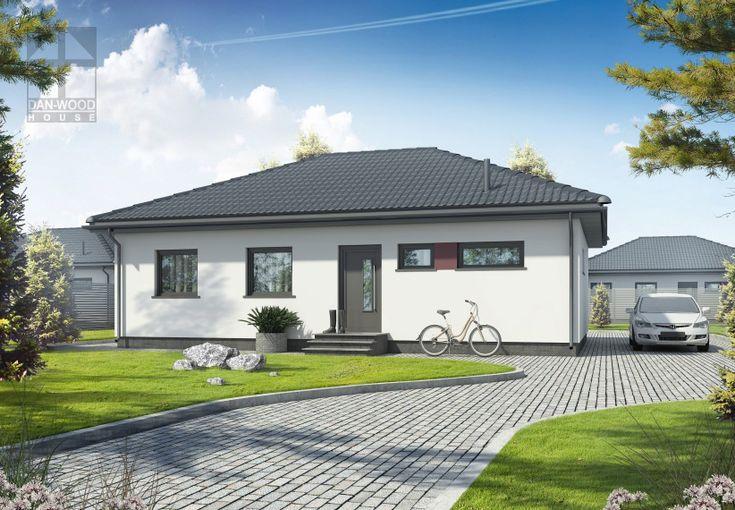 Fabulous Bungalow mit drei Zimmern K che Bad G ste WC Technikraum und Diele Satteldach mit Dachneigung Im Preis enthalten schl sselfertig inkl