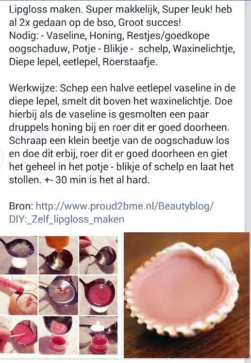 Lipgloss maken