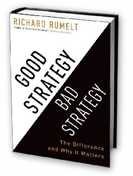 Sounds boring, looks boring. But is actually really good. If only to get you to realise that most things you've read that have had the word 'strategy' attached to them are in fact not anything to do with strategy. It's a word that's overused and misunderstood.