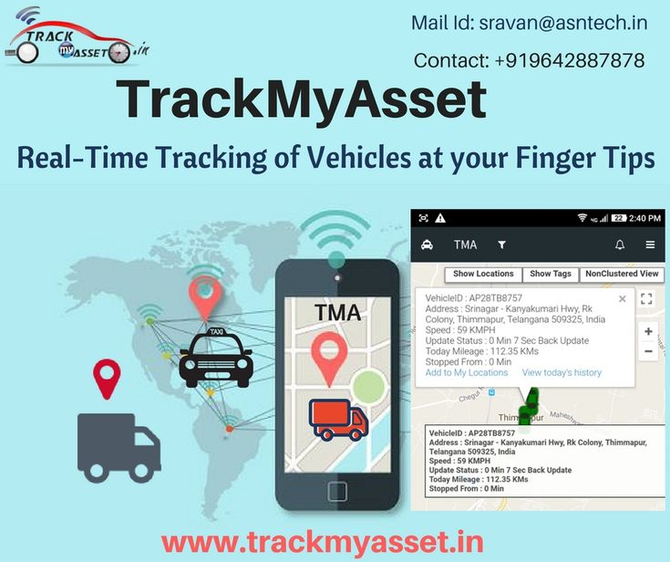 Are you looking for Real-Time GPS Tracking System to Track all your Vehicles  Aren't you?  TrackMyAsset providing best Real-Time GPS Tracking System at low cost We are providing GPS Tracking System Solutions to an Individual and Specific Industry since 2010  At TrackMyAsset we guide our users to find the minute to minute details of their  Assets, Vehicle Exact Location Total Distance Traveled by the Vehicle Historic Route playback of Path traversed by the Vehicle Geo-Fence Alerts