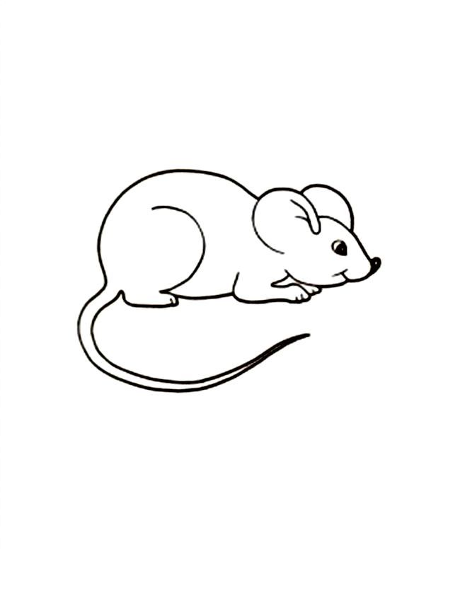 For Kindergarten Free Printable Mouse Coloring Pages For