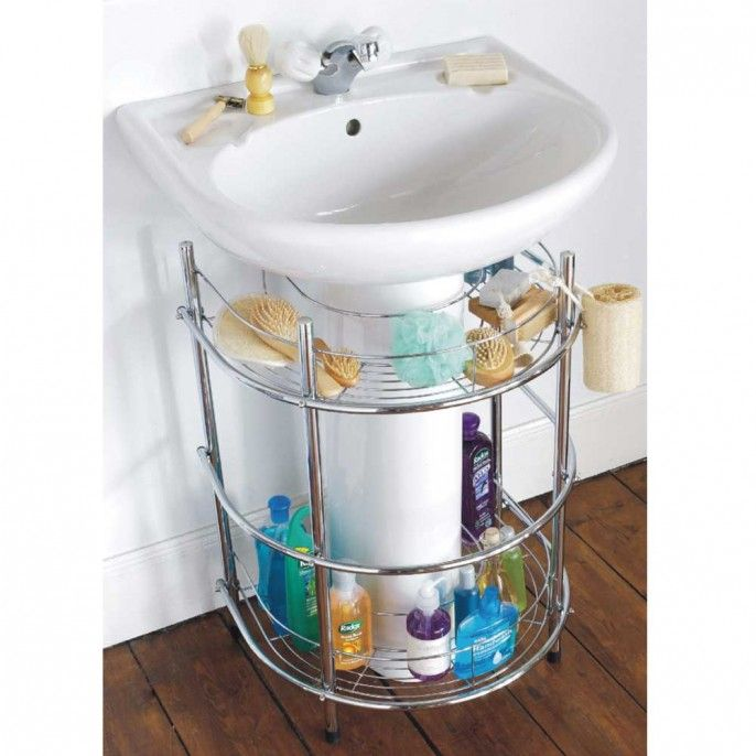 Chrome Sink Organiser | Poundstretcher